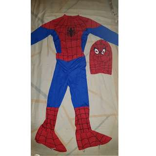 Spiderman Costume - 7 yrs old