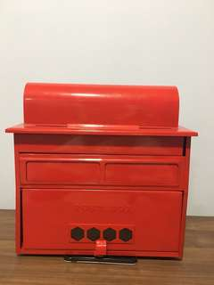 Vintage Red Postbox