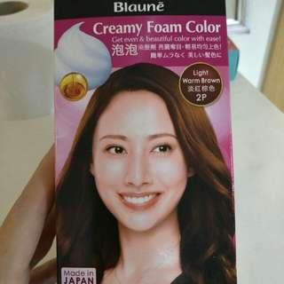 Liese Creamy Foam Colour: Light warm brown 2P