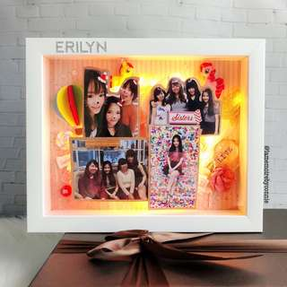 Personalised 3D Photo Frame (Little Pony)