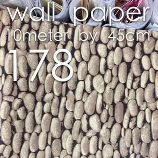 Bricks Stones Design Wallpaper Self Adhesive C178