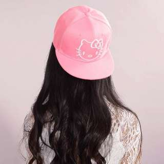 Hello kitty baseball cap
