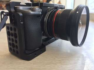 sony A6000 with samyang 12mm F2  complete wth box and warranty