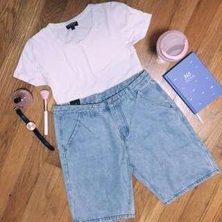 bnwt Casual jeans/denim shorts #huat50sale