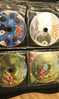 CHILDREN's DVD's and VCD