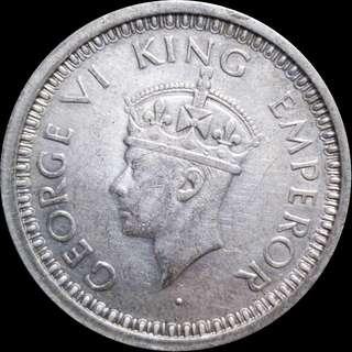 🚚 1 Silver Rupee - George VI