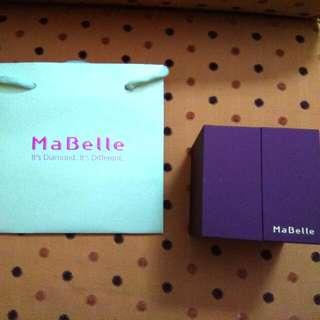 Mabelle手飾盒連紙袋(全新)