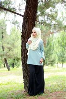 MATERNITY BLOUSE | MINT (SB 02)