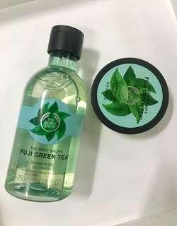 Fuji Green Tea Body Wash & Body Butter Set