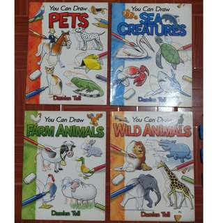 Drawing Books - I CAN DRAW Pets, Animals, Creatures