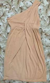 Forever 21 Nude Cocktail Dress