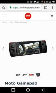 Motorola gamepad - Moto Z2 Play compatible