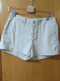 Polo White Shorts