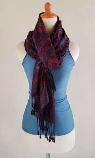 Pashmina - Purple Blue