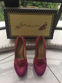 💯Original Designer Brand Shoes Shoes Shoes Pre-Owned Alexa Oxford Pump (Bought Rm359.00) with Box