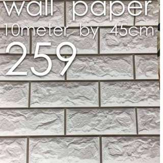 Bricks Stones Design Wallpaper Self Adhesive C259