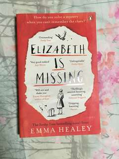 Elizabeth is Missing by Emma Haeley