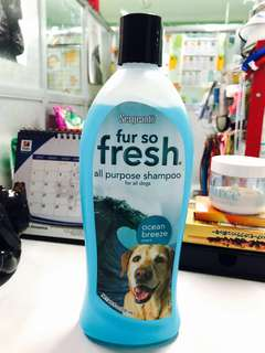 Sergeant's Fur so Fresh - all purpose shampoo / for all dogs