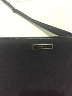 Charles and Keith Black Slingbag