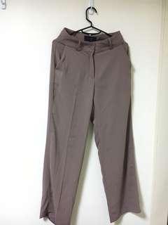 92PLEAT 雪紡西裝褲