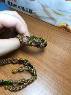 🚚 五色 中國繩幸運手環