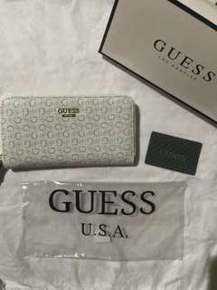 Authentic Guess Long Zippy Wallet