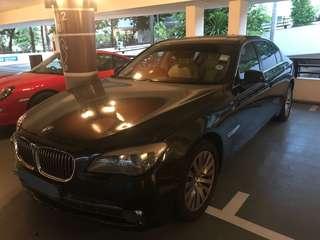 BMW 740LI & 525 Wedding Rental