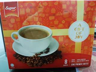 Super 3 in 1 Premix Coffee 8 sachets