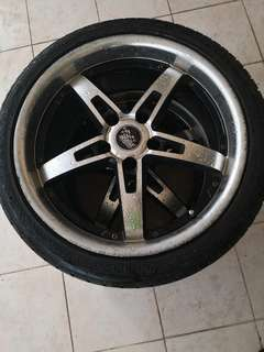 18 inch SSW rims for sale