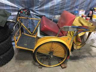 Antique Electric Tricycle