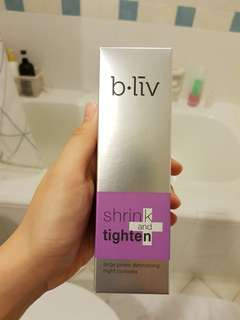 B.liv Shrink and Tighten+ [large pores diminishing night complex] 15ml