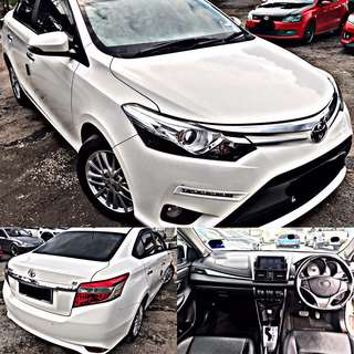 SAMBUNG BAYAR / CONTINUE LOAN  TOYOTA VIOS G SPEC 1.5 AUTO FULL SPEC NEW FACELIFT