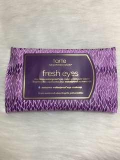 Tarte eye makeup cleansing wipes