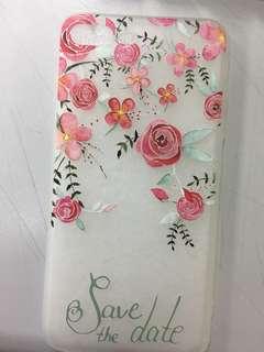 iPhone7plus 玫瑰花機殻