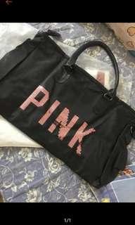 VICTORIA SECRET PINK TRAVELING BAG