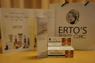 Paket 5. Ertos for your beauty eyes