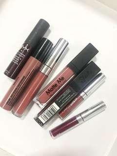 Set of 7 Liquid Lipsticks