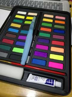 Giorgione 36 colors solid watercolor paints