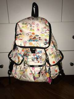 Le Sportsac Backpack Limited Edition
