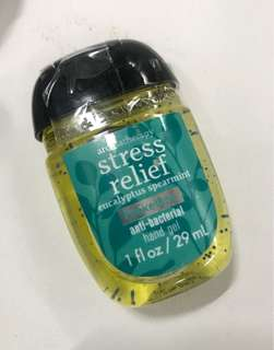 Bath And Body Works Stress Relief Sanitizer