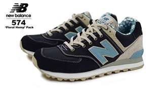New Balance 574 Floral Pack