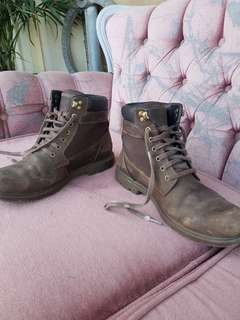 Rockport Leather Waterproof Boots