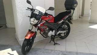 Yamaha Fz150i year 2012