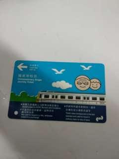 九鐵優惠單程票