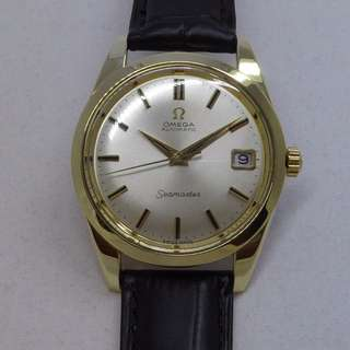 Ω 1968 Genuine OMEGA Seamaster GoldCap Special Edition Ref. 166.010 Box+Tag