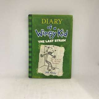 Diary Of A Wimpy Kid | The Last Straw (Hardcover)
