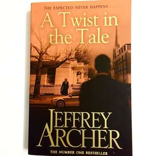 A Twist In The Tale By Jeffrey Archer (thriller book)