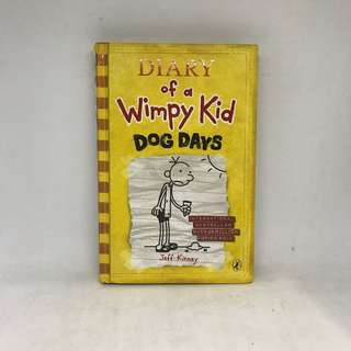 Diary Of A Wimpy Kid | Dog Days (Hard Cover)