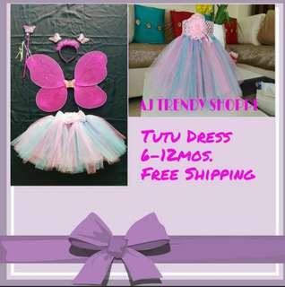 Handmade Tutu Dress or Skirt 2n1