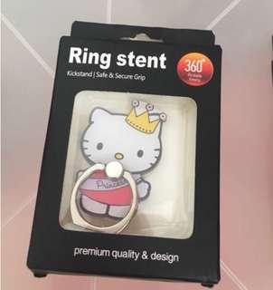 ✨買二送一 hello kitty 手機指環 手機扣 Ring Stent